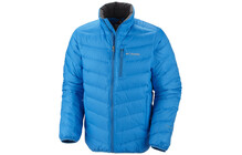 Columbia Men&#039;s lichtfire Down Jacket compass blue